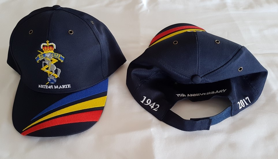 Tricolour Cap Optional Logos