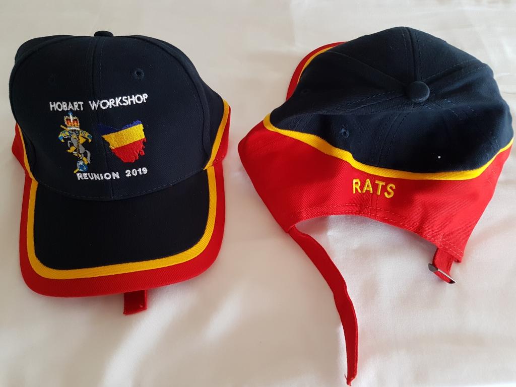 RAEME Caps Optional Logos