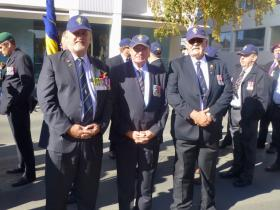 ANZAC Day 2014 Dave, Rolly and Mick