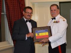 Bruv Accepting Award